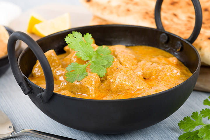 Curry Korma de pollo
