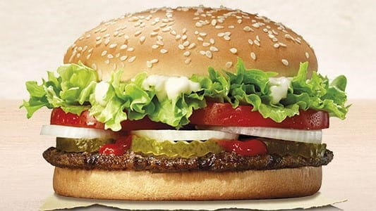 Burger King a domicilio